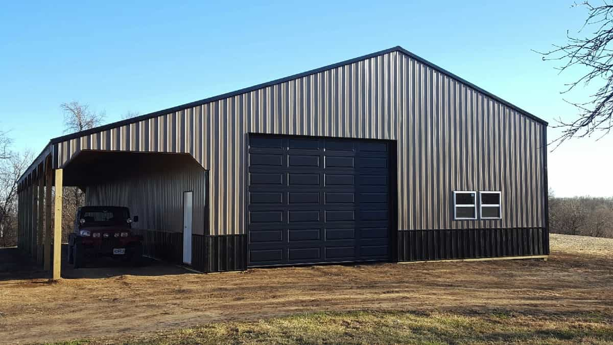 Custom Pole Barns Boss Sheds Kansas City And Johnson